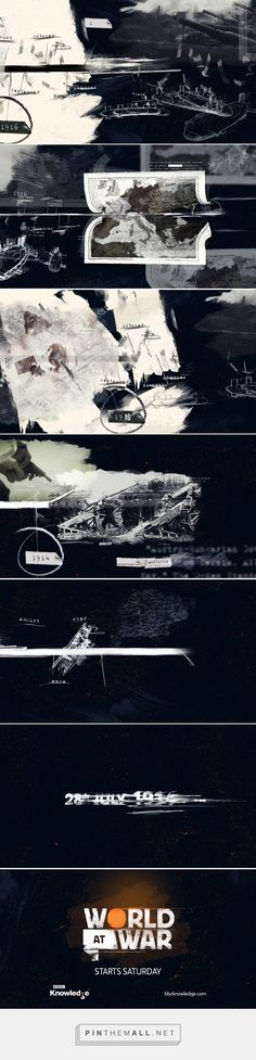World at War on Behance - created via https://pinthemall.net