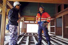 Seiji Yoshimura rushes to natural disasters to help