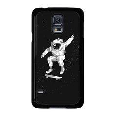 Astronaut Skateboarding For Samsung Galaxy S5 Case