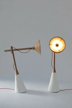 Spargo Lamps by Felix McCormack