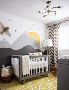 Como montar e decorar o quarto de bebê menino