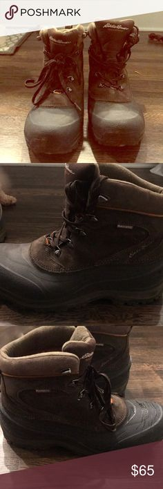 Men's Eddie Bauer Snowfoil Boot Used one where to tight of a fit Eddie Bauer Shoes Rain & Snow Boots
