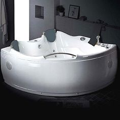 Two Person Whirlpool Tub From Jacuzzi Aquasoul Double
