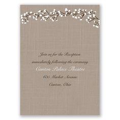 Hearts in Harmony - Reception Card Wedding Reception Cards, Wedding Invitations, Wedding Matches, Davids Bridal, Thank You Cards, Hearts, Appreciation Cards, Wedding Games, Wedding Invitation Cards