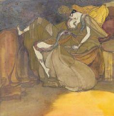 """Jeanne Mammen: """"Tod der Cleopatra""""."""