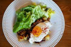 Bacon & Duckfat Hash at Oso Market