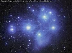 The Pleiades can be seen without binoculars from even the depths of a light-polluted city. Also known as the Seven Sisters and M45, the Pleiades is one of the brightest and closest open clusters. The Pleiades contains over 3000 stars, is about 400 light years away, and only 13 light years across. Quite evident in the above photograph are the blue reflection nebulae that surround the bright cluster stars.