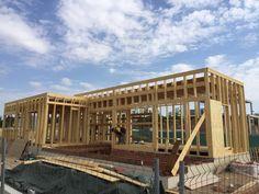 construccin casa con estructura de madera kuusamo en villalbilla madrid obra de xmadera