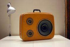 Orange Voyage   JukeCase  Portable Custom HiFi by SonValise, $420.00