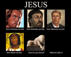 How people view Jesus: Seriously religion is one of the worst things to ever exist. Just think how advanced our world/lives would be if it was'nt for 1,000 years of living in the Dark Ages!!!   ;}