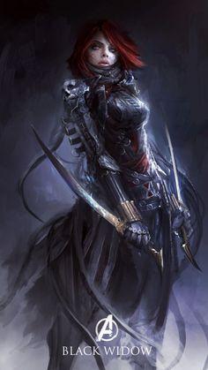 Los Vengadores estilo medieval mejores que los originales
