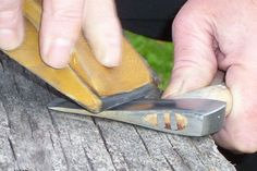 How to properly set up hatchet surface angles