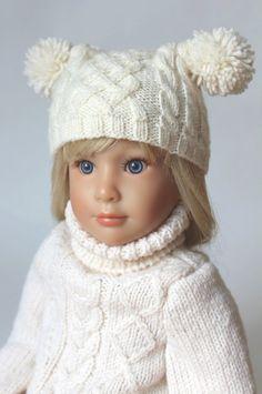 Yuson Girl Kinder Winterm/ütze Winterschal Set Warme Beanie Kinder Strickm/ütze Beanie m/ütze mit nackenschutz M/ütze Fleecefutter f/ür Jungen und M/ädchen 2-8 Jahre