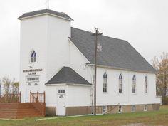 139. Bethlehem Church, Lind Township, Roseau County, Minnesota Rainy Day by Eunice Korczak 2013
