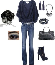 """""""navy fun"""" by kristen-344 ❤ liked on Polyvore"""