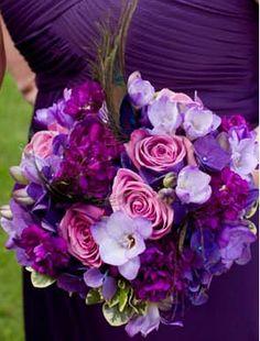 Ultraviolet Ray Bouquet- Jordan Payne Events