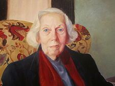 Eudora Welty, 1973 Pulitzer Prize winner for The Optimist's Daughter, as a member of the Junior League of Jackson and a contributor to its volunteer newsletter.
