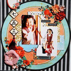 七五三 girl's ceremony - Scrapbook.com