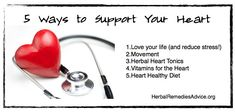 Five ways to boost your cardiovascular system:  Love your life!  Movement  Herbal heart tonics  Vitamins for the heart  Heart-healthy diet