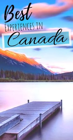 11 things that must be on that Canadian travel bucket list of yours - Canada Top Places -Things to do in Canada Solo Travel, Travel Usa, Travel Tips, Travel Articles, Budget Travel, Travel Guides, Banff, Quebec, British Columbia