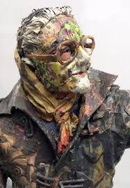 Résultats de recherche d'images pour «Newspaper sculptures by Will Kurtz»