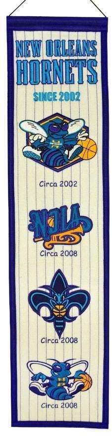 NBA Charlotte Hornets Heritage Banner