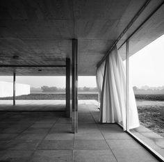 Golf Club. Krefeld-Egelsberg, Germany. 1930. Mies van der Rohe, Rebuilt as temp installation 2013. Photo Chris Schroeer.