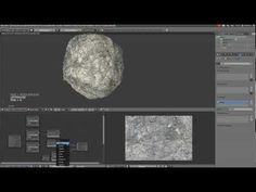 Blender Cycles: Realistic rock Tutorial - YouTube