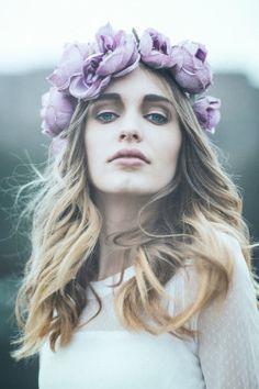 Photo: Emily Soto Model: Astrid Rönnborn (Modellink Sweden) Hair and Makeup: Emilie Larsson Headpiece: Fiori Couture