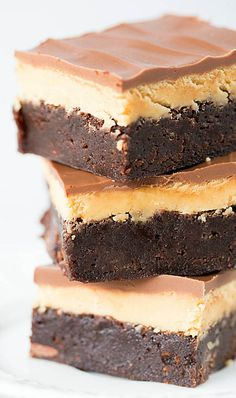 Buckeye Brownies. I've tried different types of Buckeye Brownies and these are amazing, definitely keeping this as a favorite for next season!