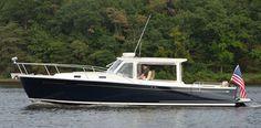 MJM Yachts, Premium performance luxury Downeast cruising yachts and picnic boats.