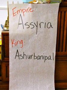 Ancient Assyrian activities (SOTW chp 16)
