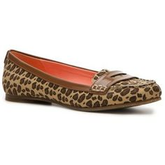 "BRAND NEW- Sperry ""Amelia"" animal print loafers!"