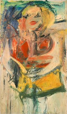 Willem de Kooning  Marilyn Monroe, 1954  Oil on canvas  50 x 30 inches  Collection Neuberger Museum of Art