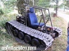 Résultats de recherche d'images pour «homemade tracked vehicle»
