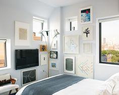 Flat screen tv as wall art