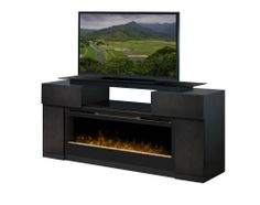 """Dimplex Concord 73"""" TV Stand with Electric Fireplace & Reviews 
