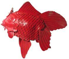 スムース革金魚バッグ(大)
