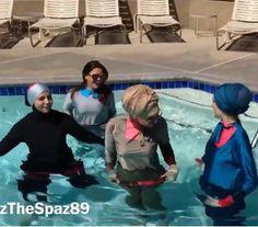 Splash!!! Fun! #MADAMMEBK #Yazthespaz89 #thehijablog  Online Store: www.madammebk.com  @indahnadapuspita #madammebk #indahnadapuspita #modestswimwear #modestswimsuit #burqini #islamicswimsuit #burquini #islamicswimwear #burkini #hijabfashion