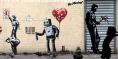 The Best Of Banksy Animated Into Incredible GIFs