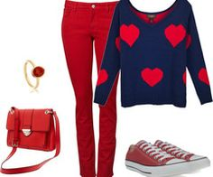 Cute valentine day outfits on Pinterest | 25 Pins