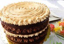 TORT CU CREMA DE CIOCOLATA SI UNT DE ARAHIDE Cake Cookies, Unt, Ice Cream, Desserts, Sweet Dreams, Food, Pastel, Cakes, Fine Dining