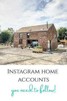 These Instagram home accounts are a must follow if you're looking for home decor inspo or building tips and advice. Click on the link for more info! Self Build Houses, Old Pub, Planning Permission, Water Heating, Heating Systems, Home Decor Inspiration, Accounting, Beautiful Homes, Building A House