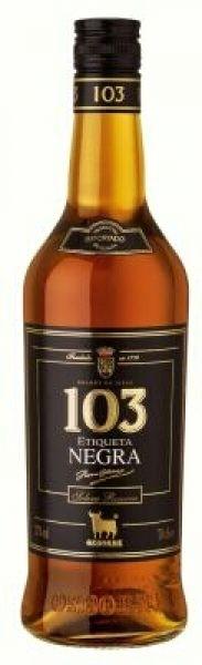 Osborne 103 Negra  / 36% vol (0,7L)