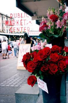 Pike Place Market, Seattle, Washington.  Go to www.YourTravelVideos.com or just click on photo for home videos and much more on sites like this.