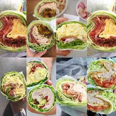 Low Carb Recipes Ever wonder how to make a lettuce wrap sandwich? These easy lettuce wraps are the perfect low carb, keto, and healthy sandwich without the bread! Everybody loves these lettuce sandwich wraps! Low Carb Recipes, Diet Recipes, Cooking Recipes, Healthy Recipes, Healthy Sandwiches, Wrap Sandwiches, Healthy Wraps, Healthy Snacks, Low Carb Wraps