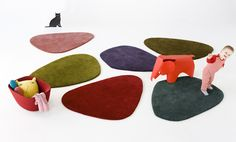 Fun rug collection- exhibitor at ICFF
