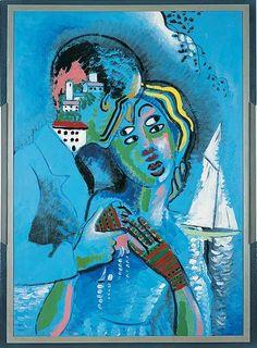 Francis Picabia (France, 1879-1953) – Idylle (1927) Musée de Grenoble, France
