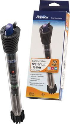 Aqueon Submersible Heater #AquariumHeaterProducts