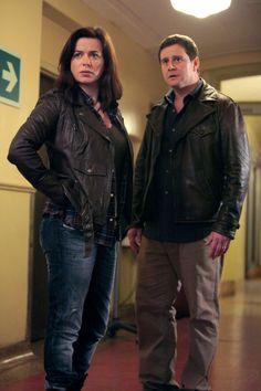 Torchwood: Miracle Day - Gwen Cooper (Eve Myles) and Rhys Williams (Kai Owen) #torchwood